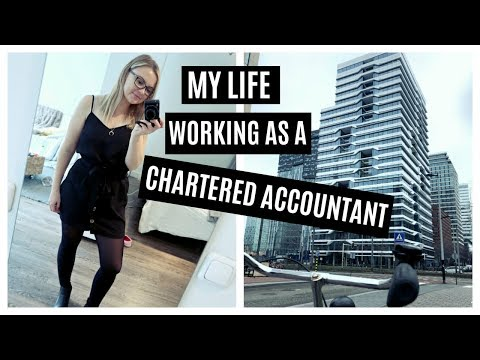 A day in the life of a CHARTERED ACCOUNTANT - Vlogstyle in AMSTERDAM