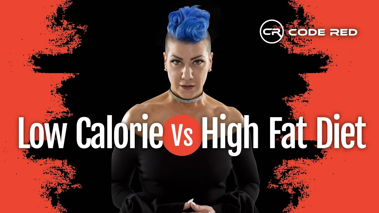 Low Calorie vs High Fat Diet (Low Carb Weight Loss) - YouTube