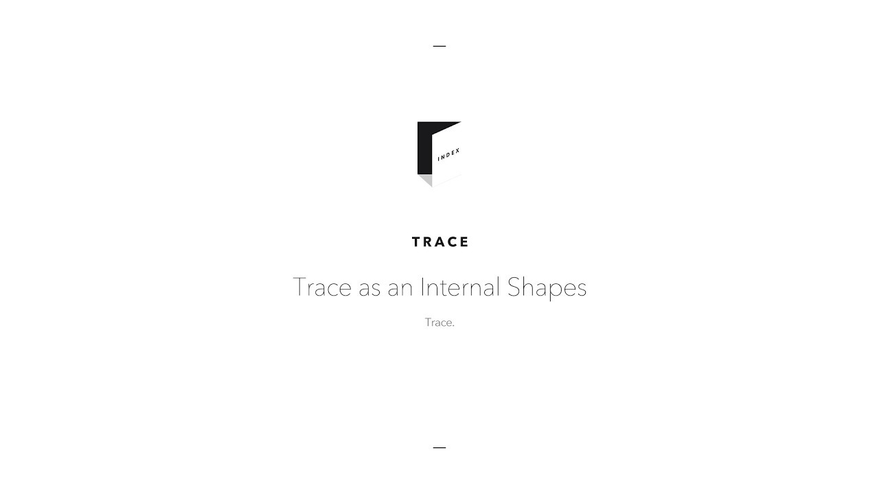 trace trace as an internal shape trace youtube