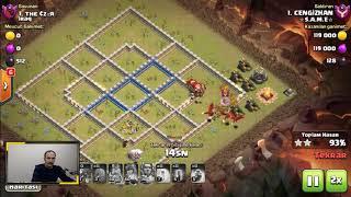 Yarasa Büyüsü ile Köy Binası 12 Üçlemek Clash of clans