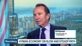 Evercore ISI Chairman Sees U.S. on Slow and Steady Path