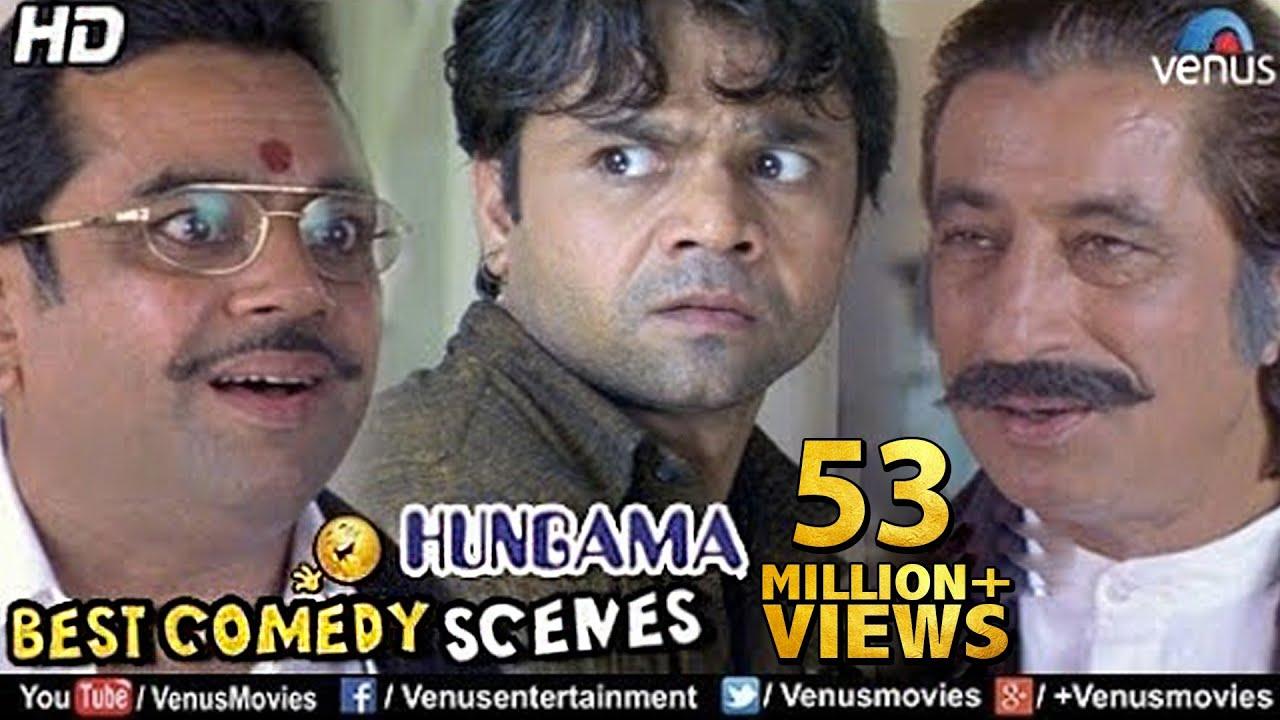 Download Best Comedy Scenes | Paresh Rawal, Rajpal, Shakti Kapoor | Bollywood Comedy Movies | Hungama Scenes