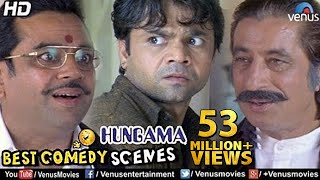 Best Comedy Scenes  Paresh Rawal Rajpal Shakti Kapoor  Bollywood Comedy Movies  Hungama Scenes