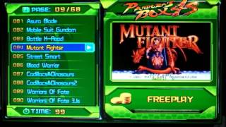 Pandora Box 4s Game List