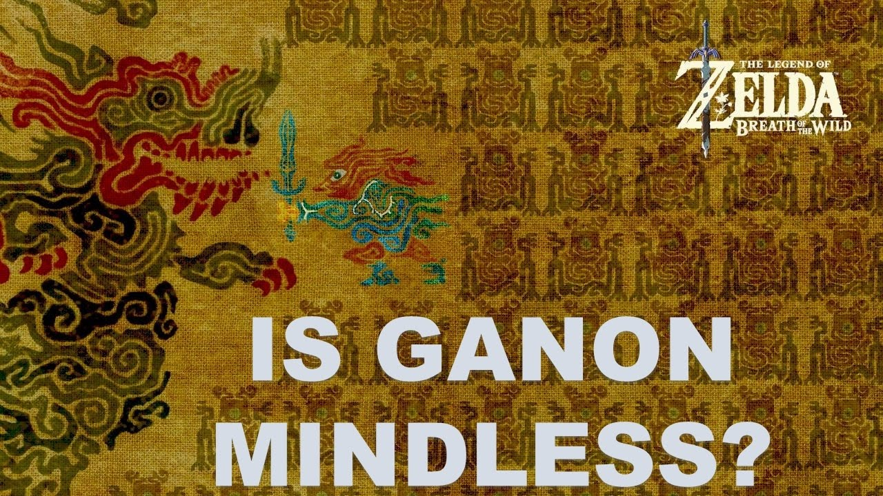 Is Calamity Ganon Mindless Botw Theory