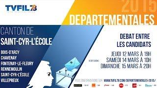 Départementales 2015 – Les débats – Canton de Saint-Cyr-l-'Ecole