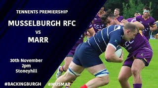 HIGHLIGHTS | Musselburgh vs Marr - Tennents Premiership 2019/20