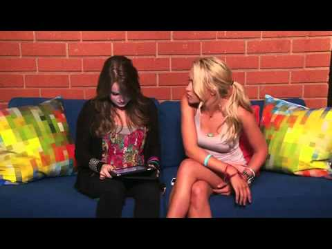 Emily Osment & Kay Panbaker live chat  Cyberbully
