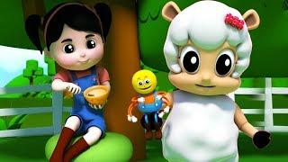 pequeña señorita muffet | canciones para niños | Español canciones infantiles | Little Miss Muffet