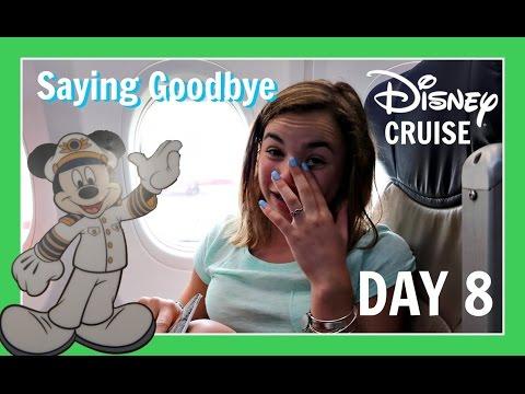 DISNEY CRUISE VACATION   DAY 8: SAYING GOODBYE   Flippin' Katie
