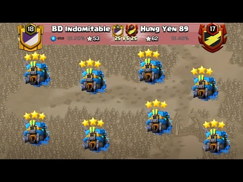 Mighty War Best TH12 War 3Star Attack Strategy 2018! Fair Play Clan War Attack TH12 | Clah Of Clans