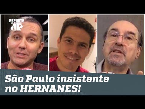 São Paulo NÃO DESISTE de Hernanes! Ele vai VOLTAR?