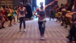Battle Benjamin et Rodrigo à la Convention Zumba® d'Orlando 2015