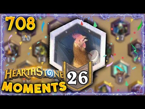 CHAT RANK 26 BE LIKE...!! | Hearthstone Daily Moments Ep. 708