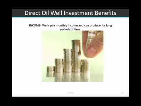 Direct Investing in Oil Wells: A Smarter Way to Take Advanta