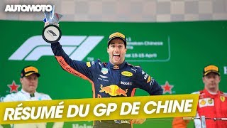 F1 : Le résumé du GP de Chine