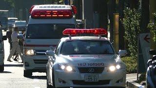 緊急走行!!レクサスドクターカー救急車と一緒 Doctor Car LEXUS IS250 R...