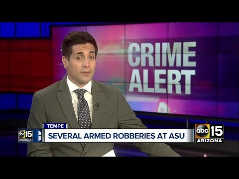 ASU Police: Several students robbed near Tempe campus