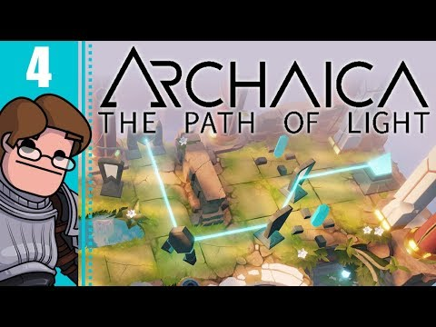 Let's Play Archaica: The Path of Light Part 4 - New Mechanics Really Aren't Pulling Punches