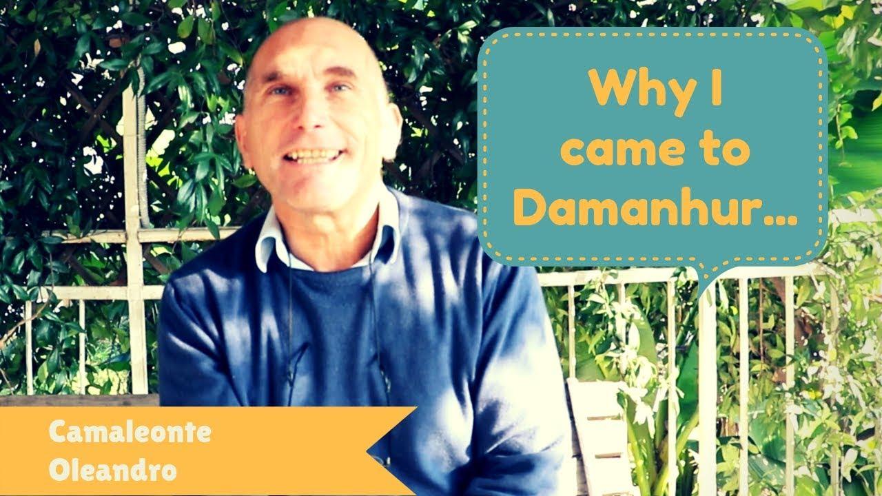 Why I Came To Damanhur Camaleonte Oleandro Youtube