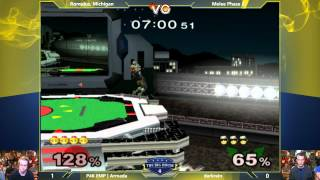 TBH4 - P4K EMP | Armada (Peach) Vs. darkrain (Captain Falcon) SSBM Pools WF - Melee