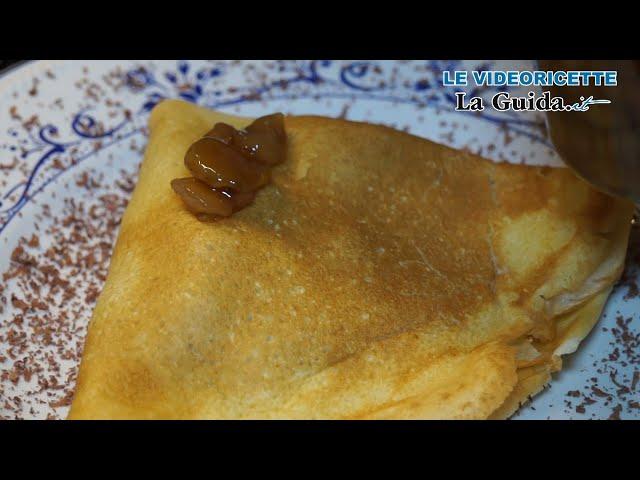 Crespelle castagne (videoricetta)