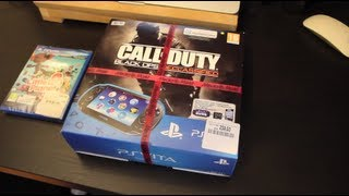 unboxing PSVITA pack call of duty declassified [FR] V.EU