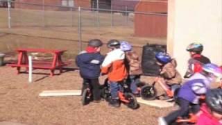 Strider PREbikes at Child Development Center