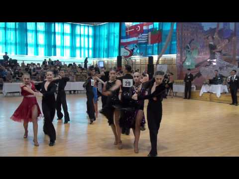 MIKE & ROXY - HAJDU CUP 2011 - IDSF OPEN YOUTH LATIN - QUARTER FINAL - P2