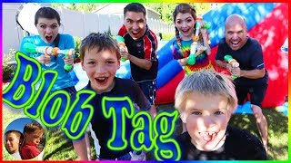 Slime Blaster Blob Tag with That YouTub3 Family Steel Kids