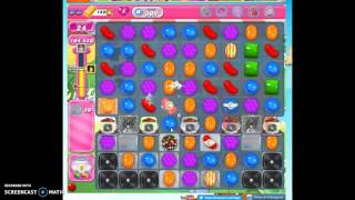 Candy Crush Level 809 help w/audio tips, hints, tricks