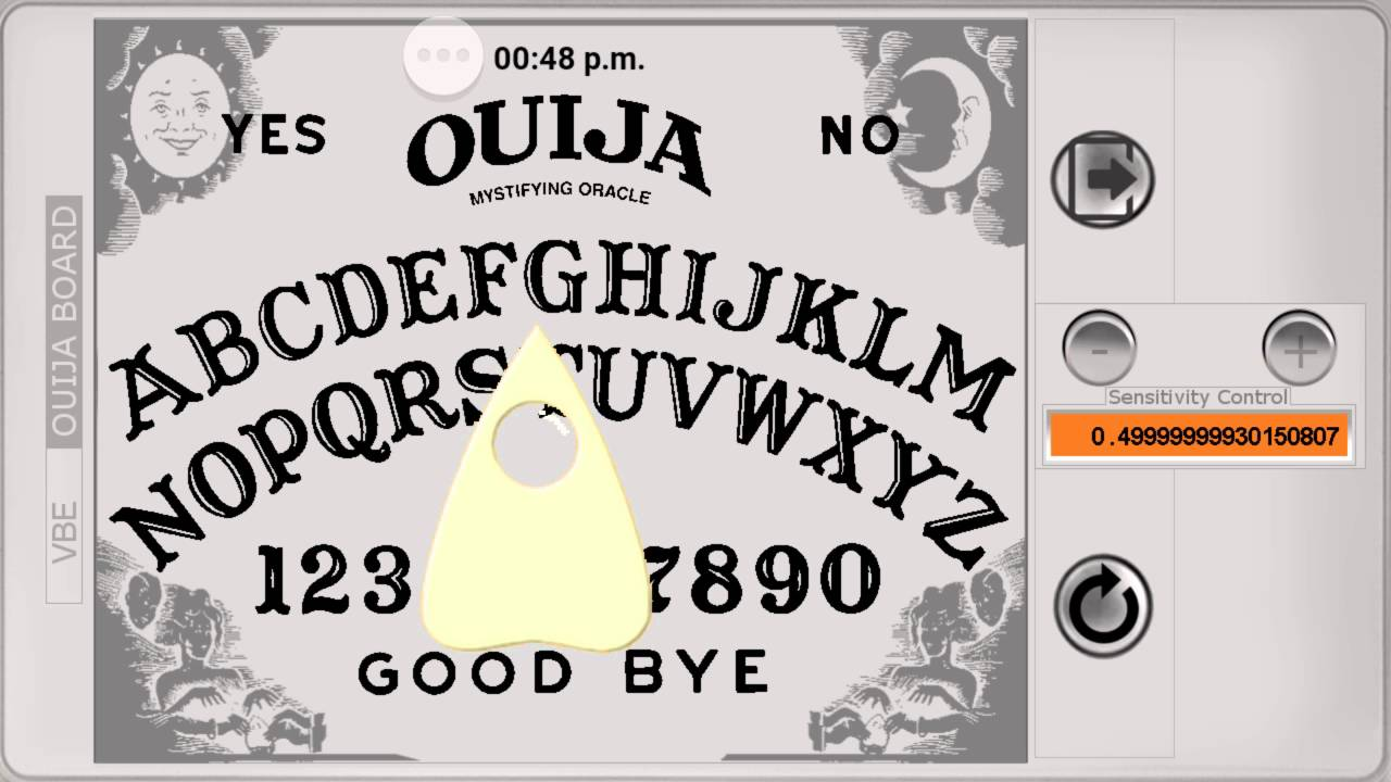 Spirit Spells My Name !!! Ouija Board App