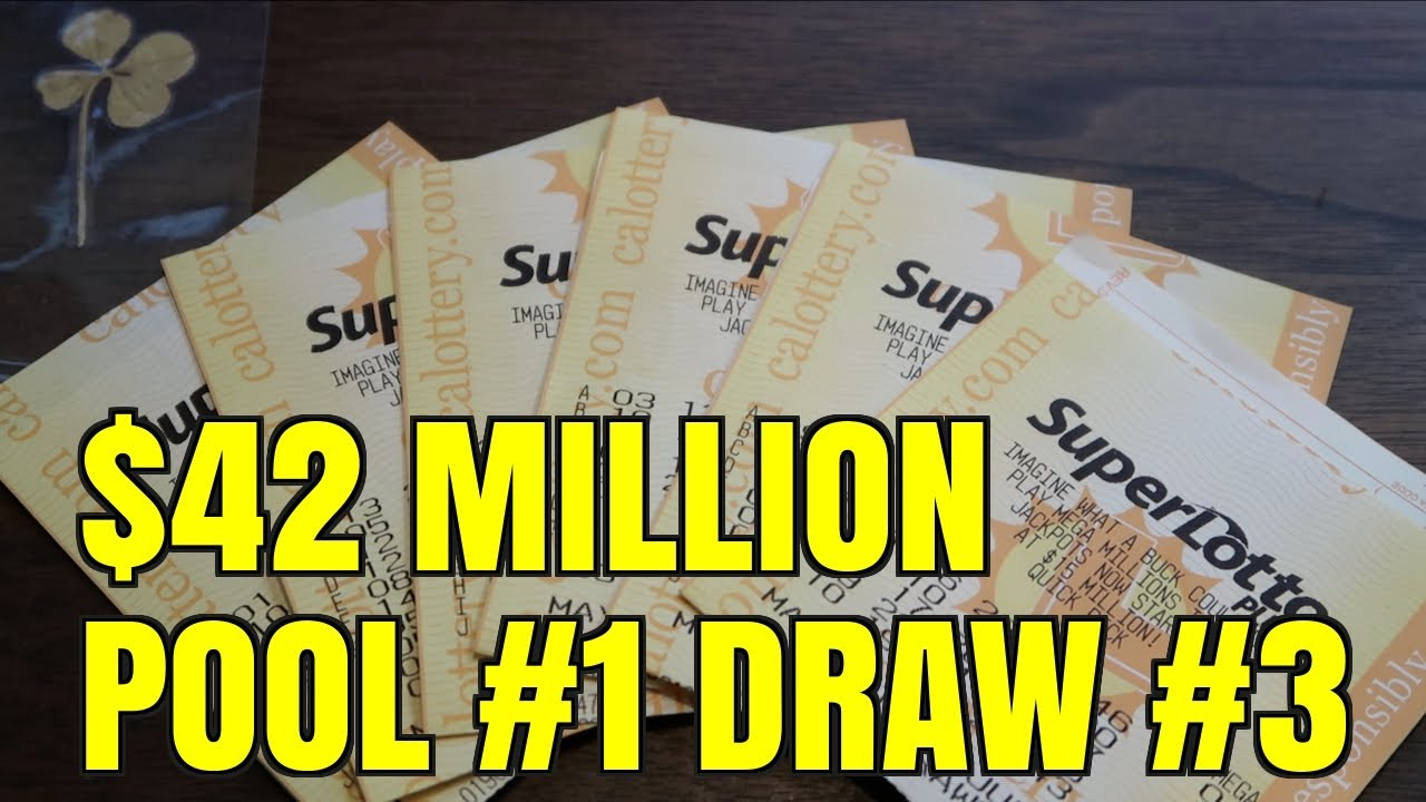 SUPERLOTTO $42 MILLION DRAWING RESULTS! - Lotto Pool #1 Draw #3