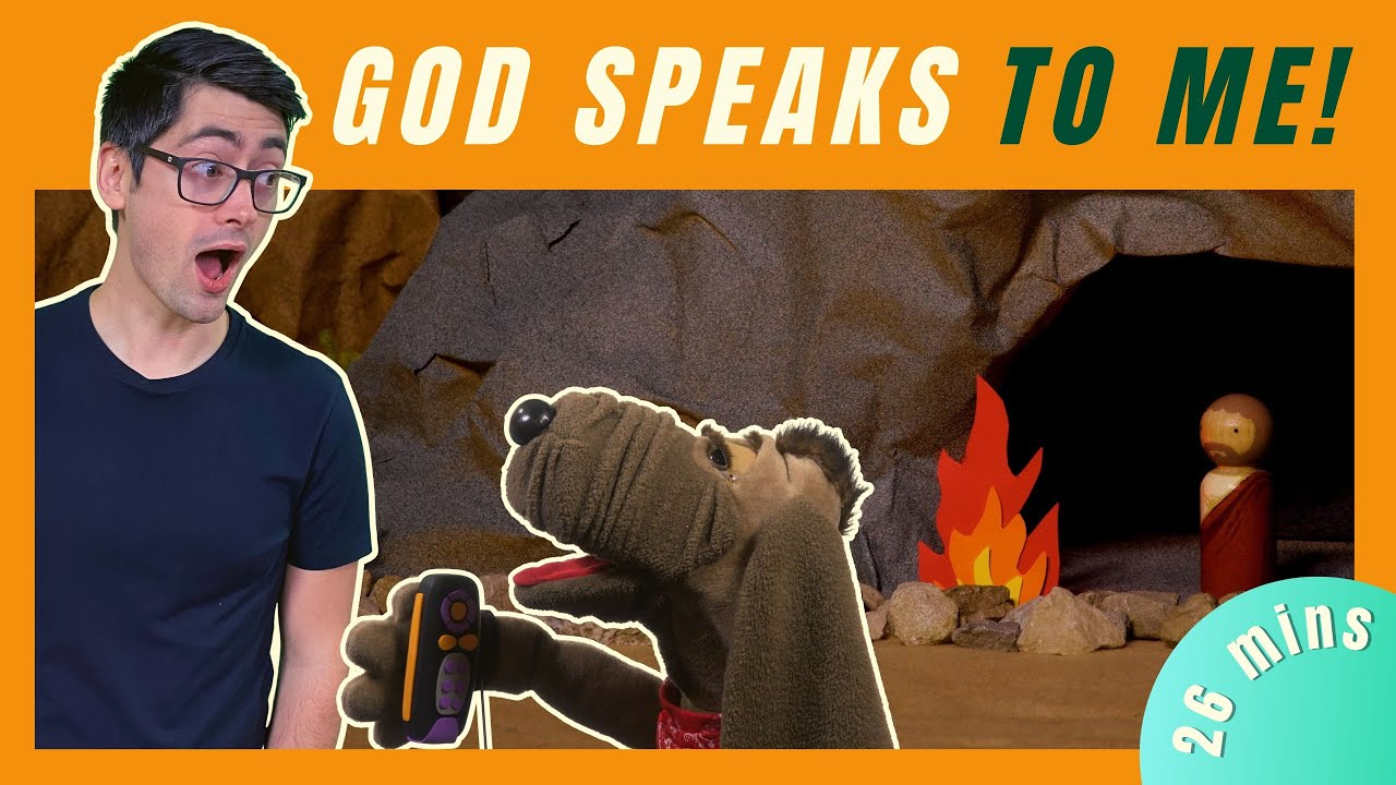 God Speaks to Me (Kids' Bible Lesson)