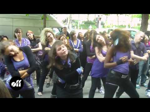 Jena Lee Le Flashmob !