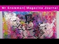 Magazine Journal Snow Man