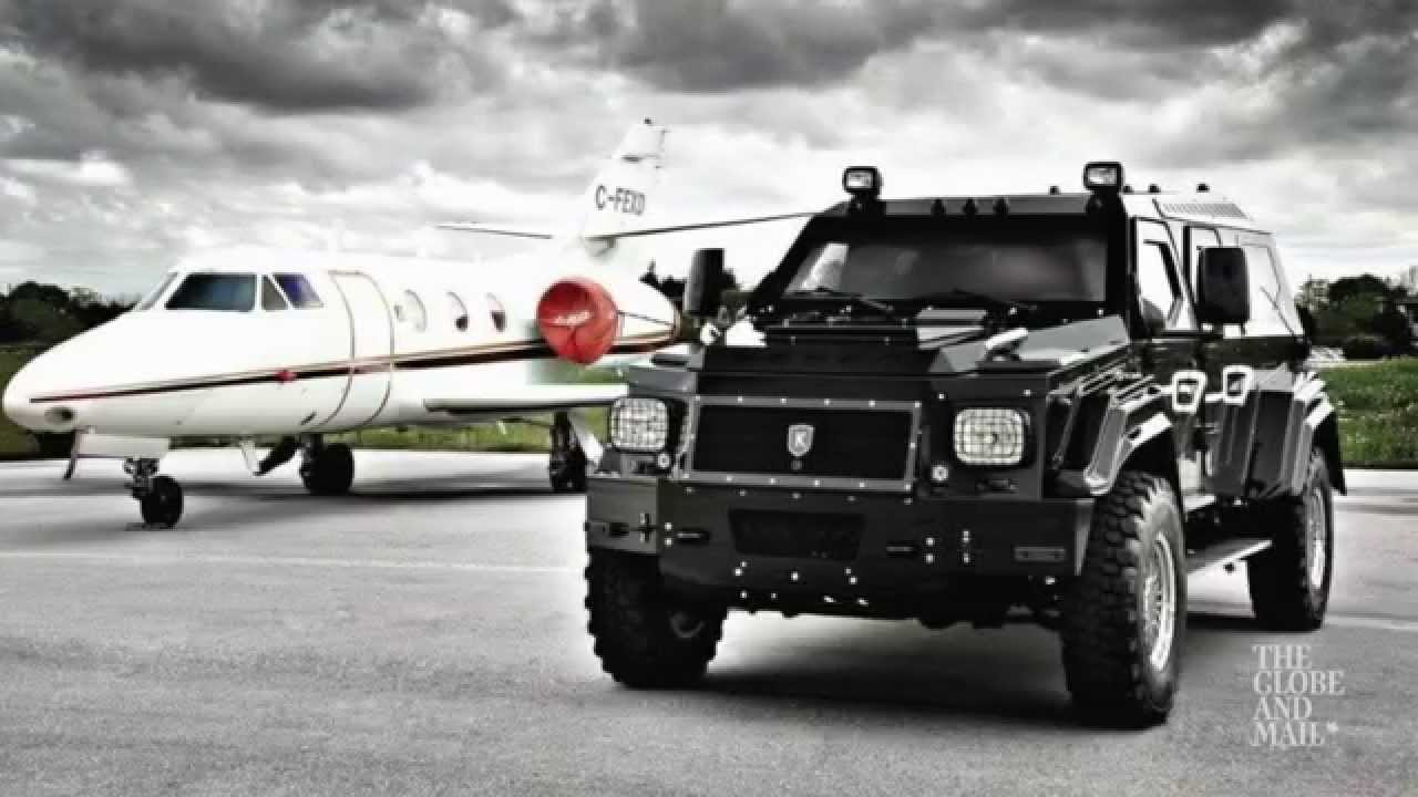 Luxury Armored Vehicles: Luxury Armoured Cars: They Cost Almost A Million Bucks