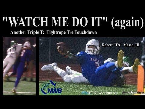 """Robert """"Tre"""" Mason, III with another tightrope TD - WEEK 12 #NWBigPlay"""