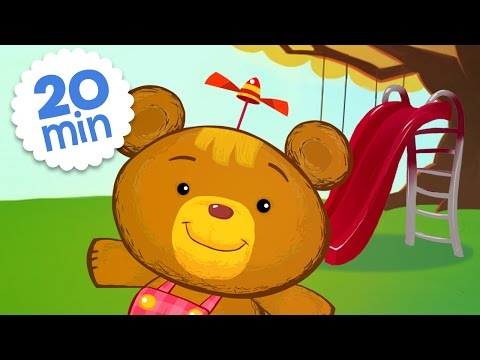 Playing on the Playground | Cartoons for Kids Compilation | Bonnie Bear - BabyFirst TV