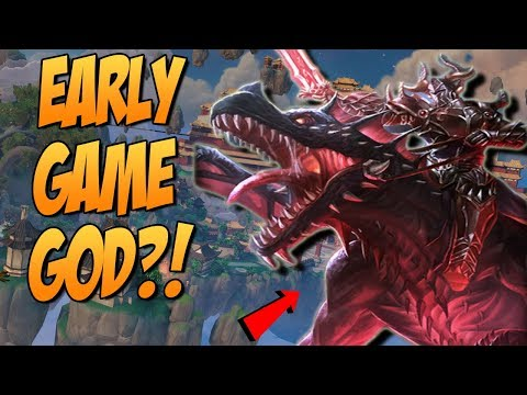 EARLY GAME AO KUANG VS EARLY GAME THANATOS?! - GrandMasters Ranked Duel - SMITE