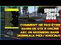 ASTUCE   COMMENT NE PAS ETRE BANNI DE GTA 5 AVEC UN MODMENU SANS PS3 JAILBREAK 1.26/7 - GTA 5 ONLINE