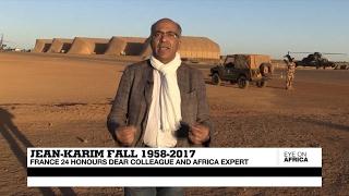 In Memory of Jean Karim Fall,  1958 2017