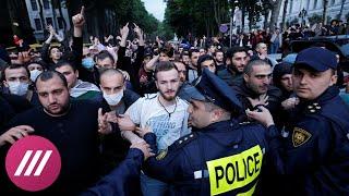 «12 человек умерли от нового наркотика»: с чего начались протесты в Грузии.