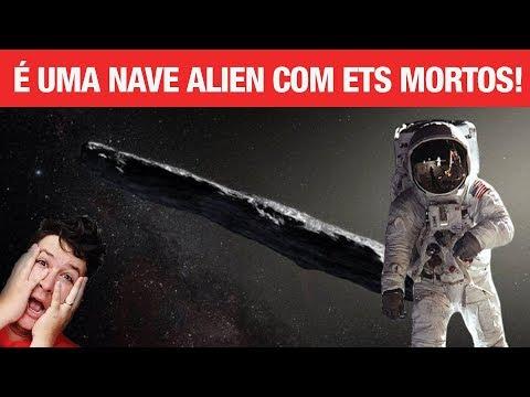 BOMBA! 1I-Oumuamua é Nave Alienígena Abandonada e Enviamos Humanos Para Explorá-la, diz Corey Goode!