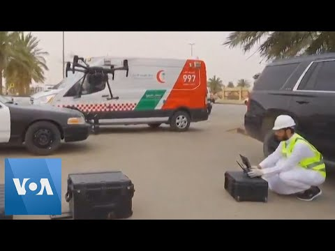 Coronavirus: Saudi Arabia Officials Use Body Temperature Drones