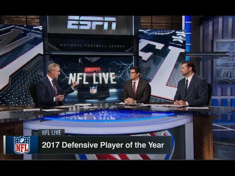 2017 Defensive Player of the Year | NFL Live | Jan 23, 2018