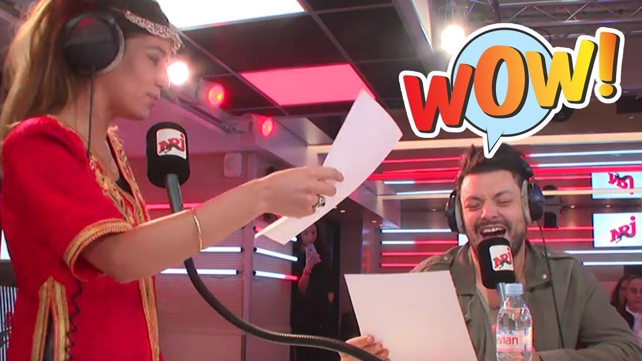 """Kev Adams et Sarah du bled """"Alad'2""""  - Le Rico Show sur NRJ"""
