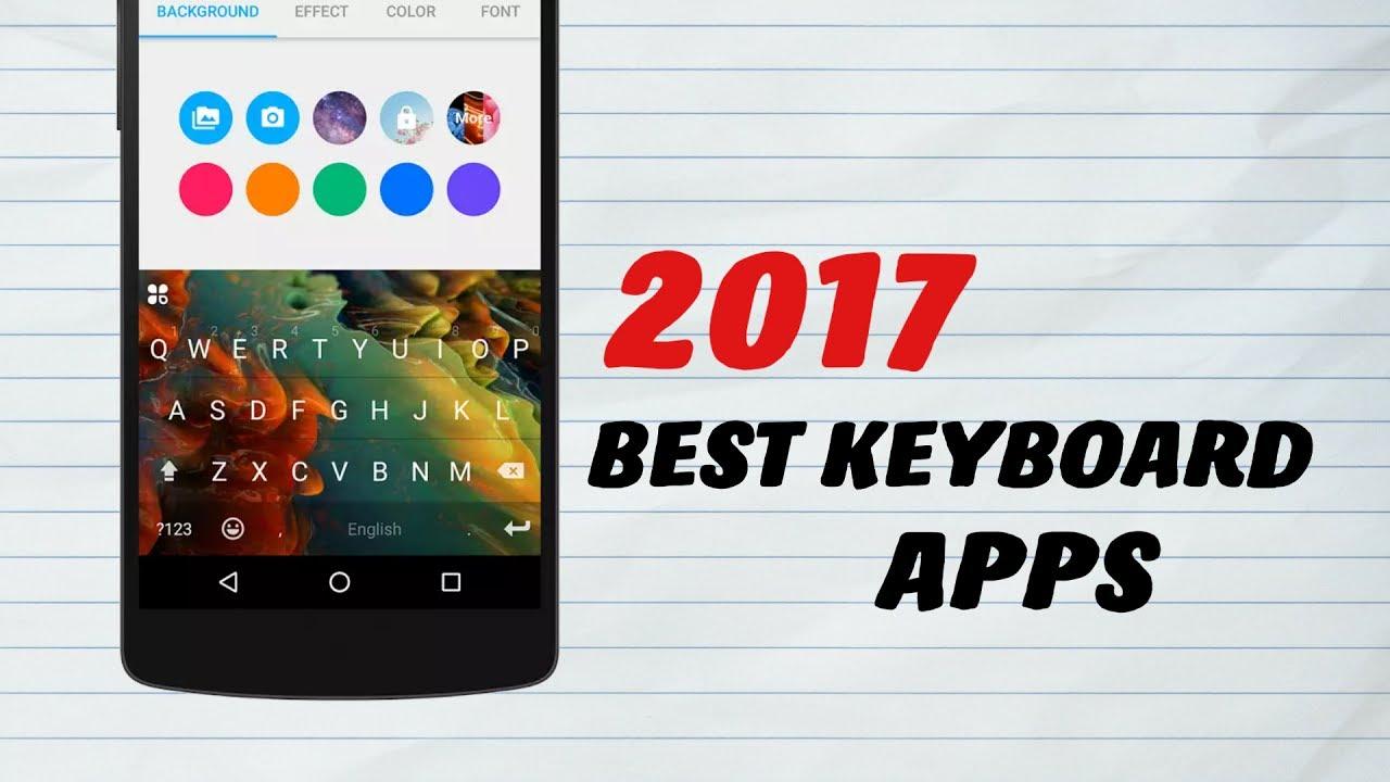 top keyboard apps 2017
