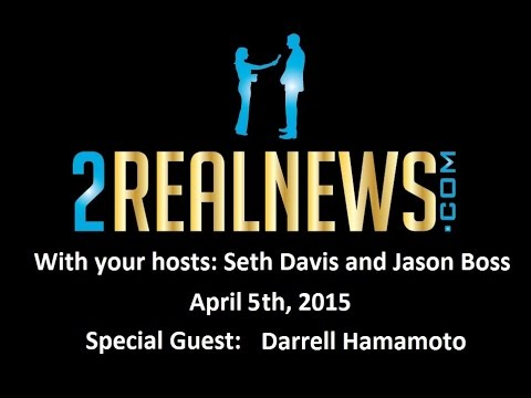 2RealNews.com Radio Show April 5th, 2015