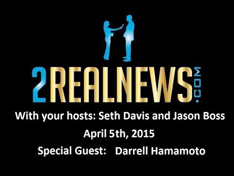 2RealNews.com Radio Show April 5th, 2015